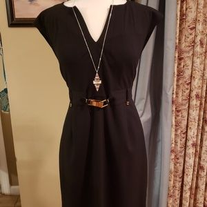 Blk Calvin Klein dress /does not include necklace